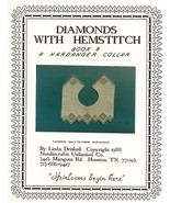 Diamonds with Hemstitch Linda Driskell Hardanger Collar Pattern Book 8 - $5.37