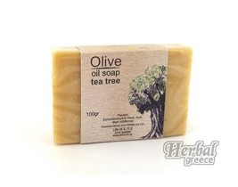 Handmade Traditional Soap, Olive Oil with Tea Tree 100g (3.5oz.) - $10.40