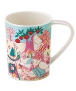 New YAMAKA Moomin Mug Spring MM341-11 Four Seas... - $34.88