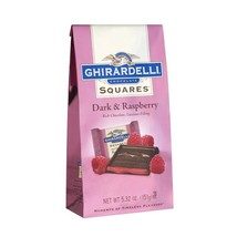 Ghirardelli Dark Chocolate with Raspberry Filling Squares 6.38 oz - $15.50