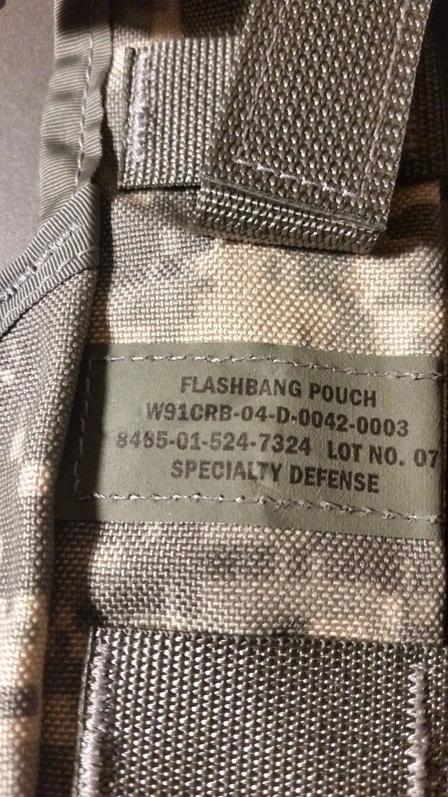Military Surplus Flashbang Grenade Pouch New And 50 Similar Items