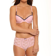 NEW Jezebel Dazzled Push Up Bra 14287 34A PINK - $13.56