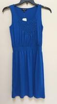 NWD Spense Petite Sleeveless Empire Waist Smock Dress 79448P Mordian Blu... - $20.90