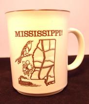 Vintage MIssissippi Souvenir Collector Mug - $23.36