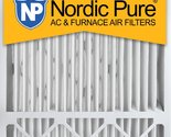 Nordic Pure 20x25x5, MERV 10, Honeywell Replacement Air Filter, Box of 2