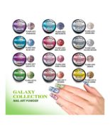 12pcs Mia Secret Galaxy Nail Art Powder Professional Acrylic 12 Colors U... - $59.97