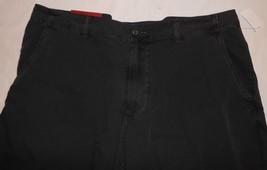 Merona NWT Mens Flat Front Shorts 42 Light Weight Black Casual - $19.07