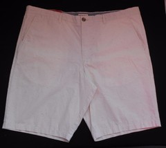 Merona Mens Flat Front Casual Shorts 42 / 44 Speckled Fabric NWT New - $21.97