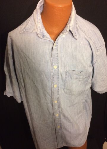 Gap Size Large Mens Casual Shirt Bin#19