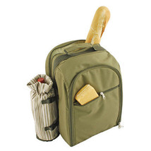 Picnic Cooler Backpack, Waterproof Lightweight Backpack Picnic Set For 4... - $112.85