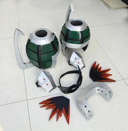 My Hero Academia Katsuki Bakugou Cosplay Armor Props Buy