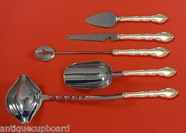 Grandeur by Oneida Sterling Silver Cocktail Party Bar Serving Set 5pc Custom - $339.00