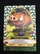 Disney Sorcerers of the Magic Kingdom Card 54 Pumbaa's Odorus Gas New - $10.00