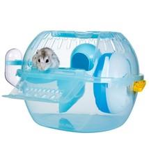 Pet Hamster House Travel Carrier Plastic Gerbil Dwarf Hamster House Cage... - $38.15