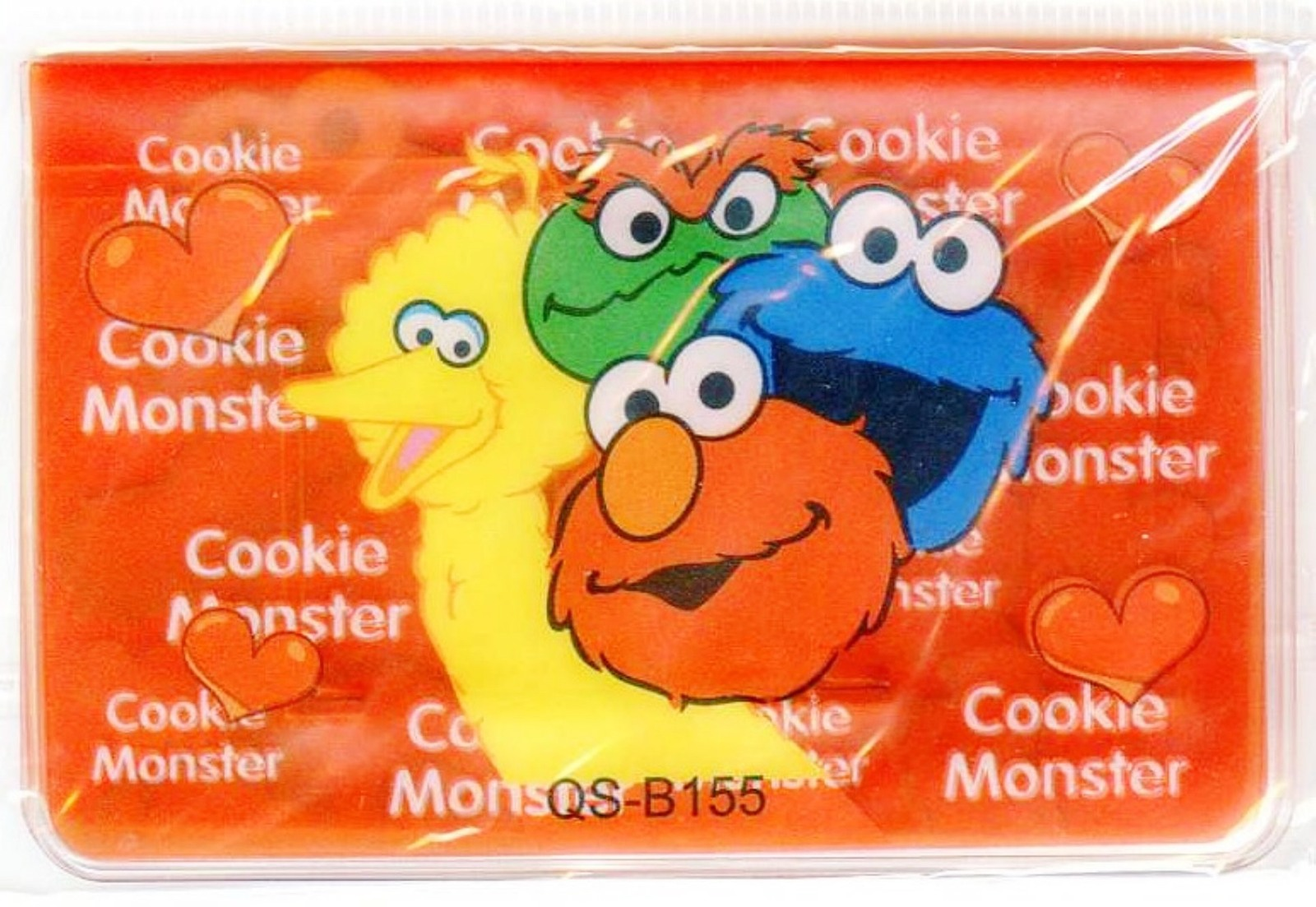 Sesame Street - Elmo Big Bird & Cookie Monster Card Cover for Credit Smart Card, used for sale  USA