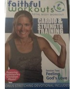 Faithful Workouts Session Two: Feeling God's Love DVD [DVD] - $18.99