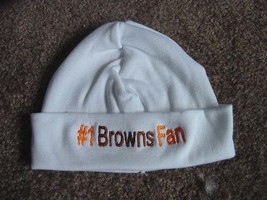Cleveland Browns Football Baby Newborn Hospital Hat Beanie Cap hat - $19.99