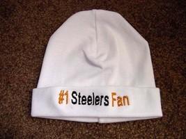 Pittsburgh Steelers Football  Baby Newborn Hospital Hat Cap - $19.99