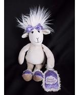 "12"" Jellycat SWEET DREAMS SHEEP GOAT LAMB tan purple plush stuffed toy - $24.45"