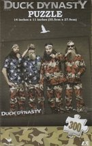 Duck Dynasty Flag 300 Piece Puzzle - $6.52