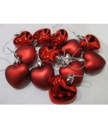 """Valentines Day Pink SHINEY & MATTE Red Hearts 2"""" Ornaments Decorations S... - $15.99"""