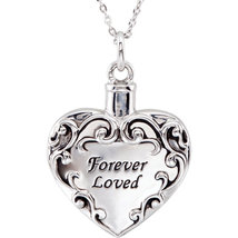 "Sterling Silver ""Forever Loved"" Ash Holder w/Chain - $159.99"