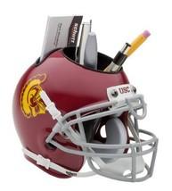 USC Trojans NCAA Football Schutt Mini Helmet Desk Caddy - $21.95
