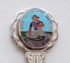 Collector Souvenir Spoon Australia Winton Home of Waltzing Matilda - $14.99