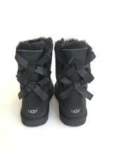 UGG BAILEY BOW BLACK KIDS YOUTH US 6 - will fit Women US 8 / EU 39 / UK 6 - $120.62