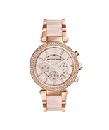 MICHAEL KORS MK5896 PARKER ROSE GOLD WATCH - RRP £229 - $113.09