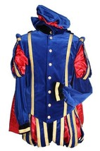 Medieval Gentleman - Blue Velvet / Red Satin   - $248.14