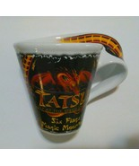 Six Flags Amusement Park Roller Coaster Coffee Cup 6 flags   - $23.76