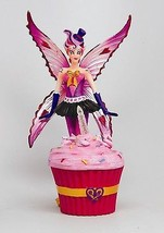 SUGAR SWEET FAIRY CUPCAKE WITH LIGHTED CANDLE BOX FAIRY - $30.59
