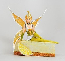 SUGAR SWEET STATUE FAIRY LEMON CHEESECAKE CAKE FAIRY FIGURINE ANNE STOKES - $28.79