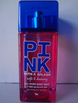 Victoria Secret Drenched in Pink SOFT & DREAMY Body Mist 8.4 oz / 250 ml - $100.00
