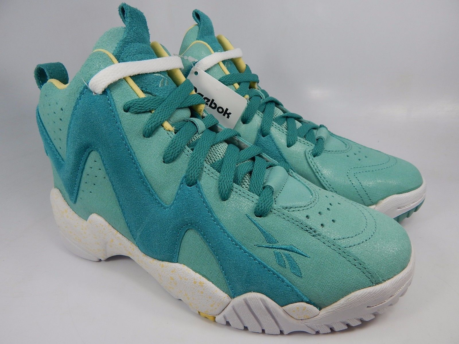 Reebok Kamikaze II Mid Girl's Basketball Shoe Sneakers US 6.5 Y EU 38.5 M43143