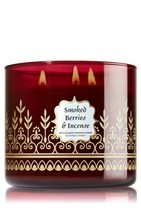 Bath & Body Works Smoked Berries & Incense 3-Wick Scented Candle,14.5 oz... - $90.00