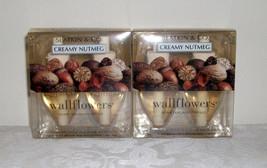 Bath & Body Works Slatkin Wallflower Bulb Refills - Creamy Nutmeg - TWO ... - $50.00