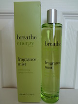Bath & Body Works Breathe Energy Exhilarating Ginger Verbena Fragrance Mist 3.3  - $250.00
