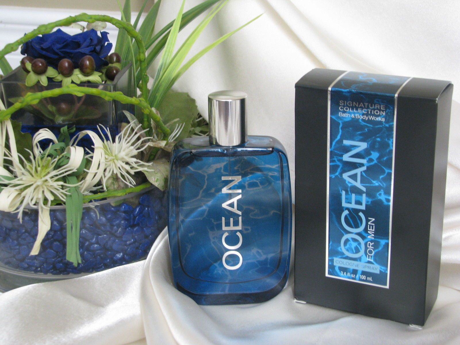 Bath and Body Works Signature Collection for Men Ocean Cologne Spray 3.4 oz