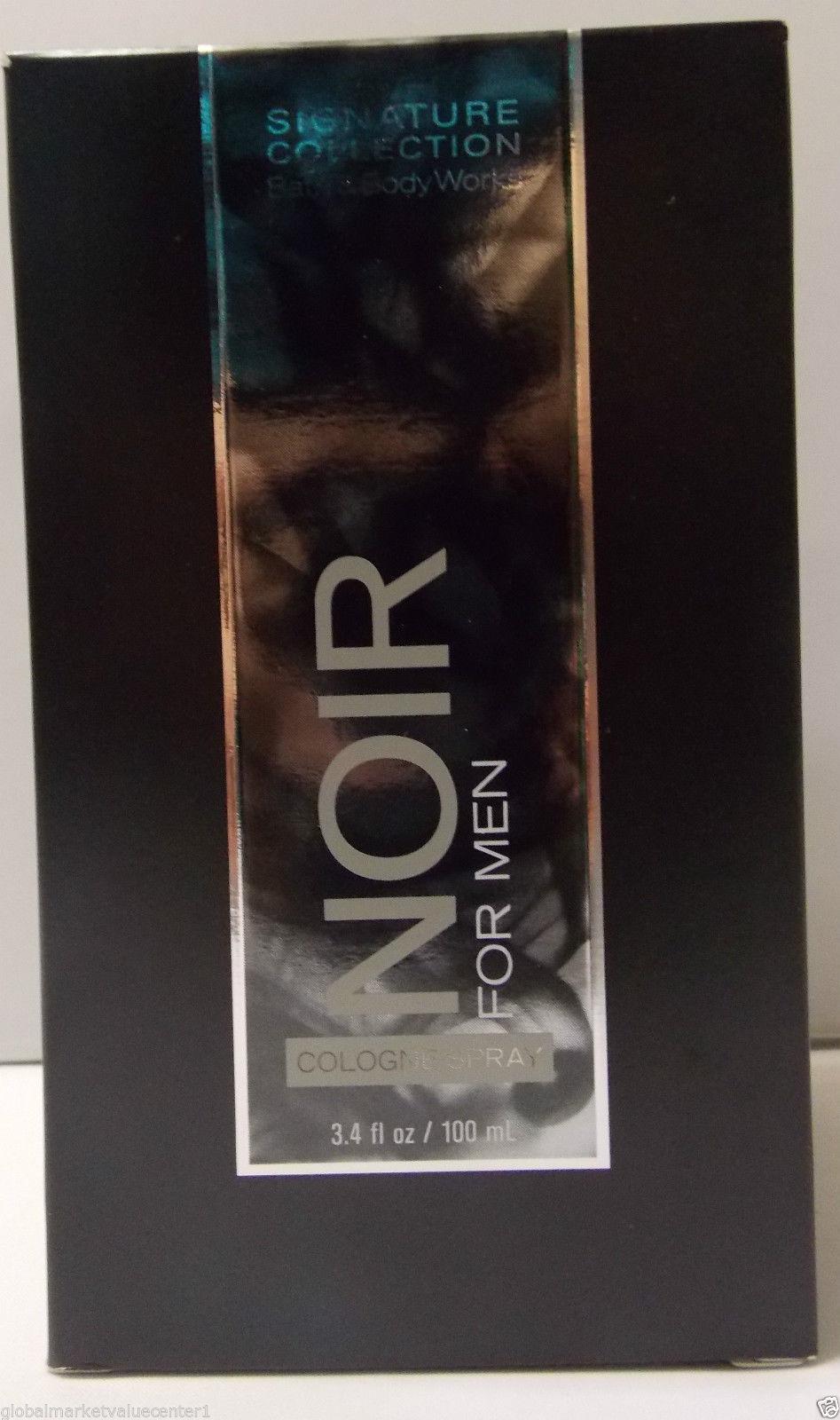 Bath & Body Works Noir for Men 3.4 oz Cologne Spray