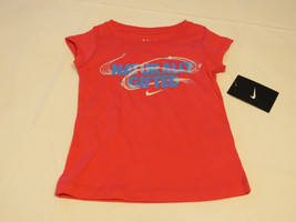 Nike active Nike TEE t shirt Toddler girls 2T 1-2 years 26A858 A72 DK Pi... - $21.77