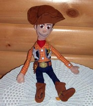 "Disney Toy Story Plush 20"" TALL Cowboy Sheriff Woody Can Give Lots of Hugs - $7.89"