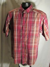 Wolverine Men's Dixon Short Sleeve Plaid Shirt Size: M