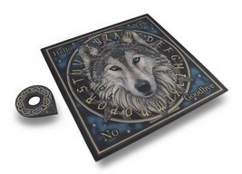 Lisa Parker Design Wild One Wolf Ouija Board Celtic Spirits Mystical - $29.99