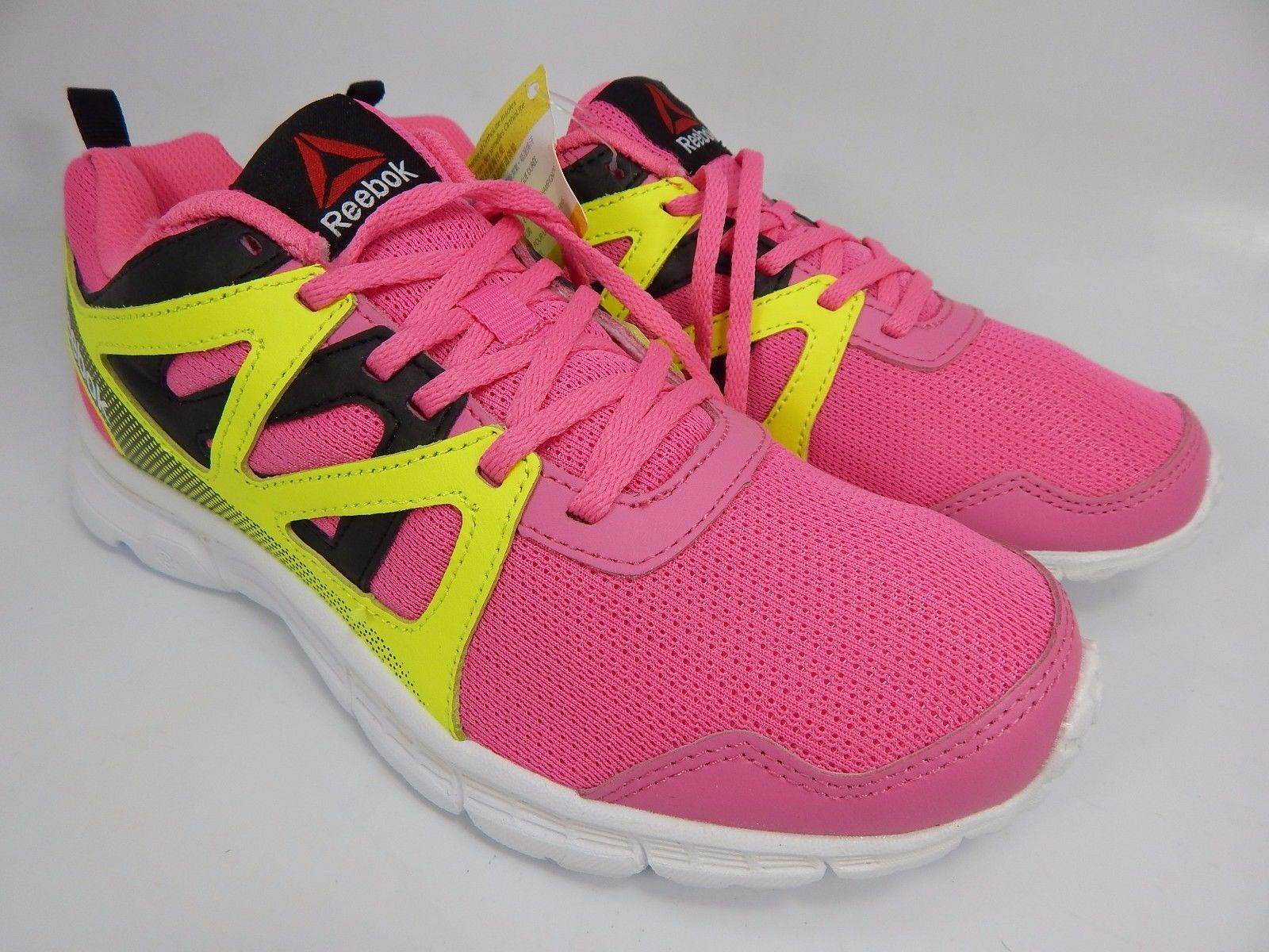Reebok Run Supreme 2.0 Girl's Running Shoe Sneakers US 5.5 Y EU 37 Pink AR3474