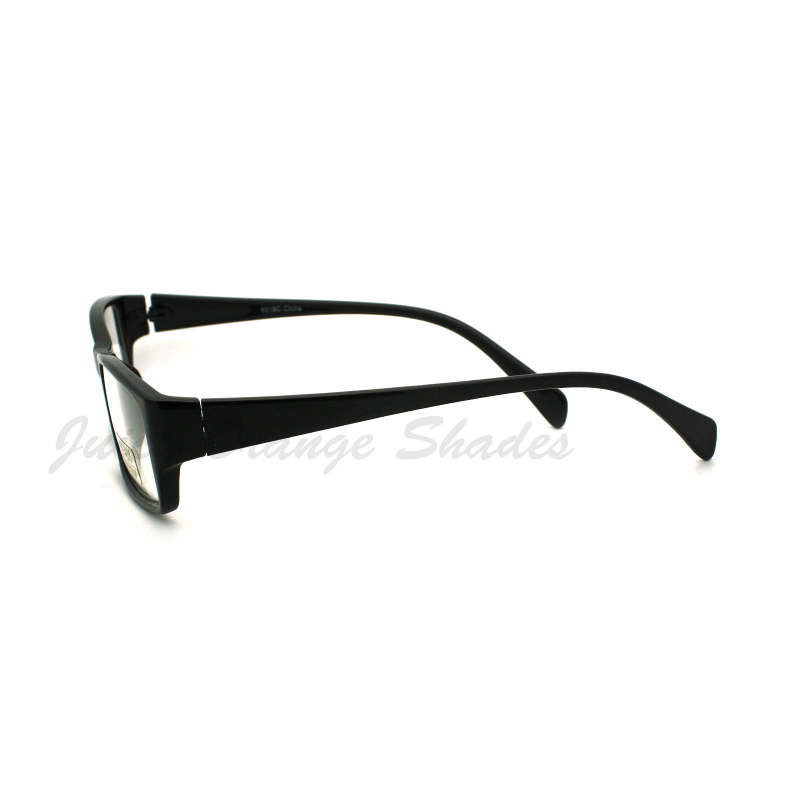 Classic Rectangular Optical Frame Glasses Clear Lens Eyeglasses