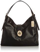 Coach Madison Carlyle Shoulder Bag Li/black 322... - $369.99