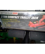 Pittsburgh Automotive Heavy Duty 2 Ton Compact Trolley Jack  - $89.95