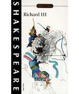 Richard III : William Shakespeare Signet Classic Series FREE SHIPPING U.... - $7.34